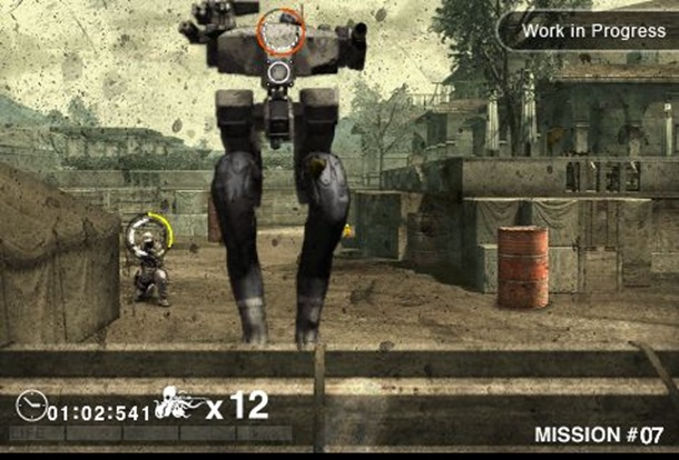 Screenshot de Metal Gear Solid Touch