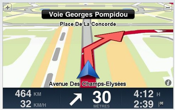 TomTom EUROPE GPS (ipa) iPhone