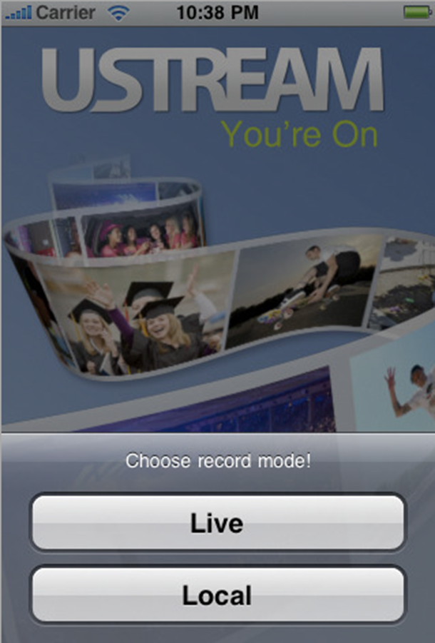 ustream iphone