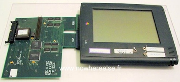 apple tablet newton bic cadillac
