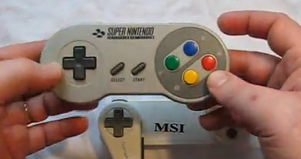 bluetooth snes controller