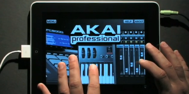 ipad akai pro synthstation