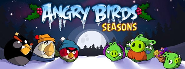 Angry birds seasons no l disponible sur iphone et android - Angry birds noel ...