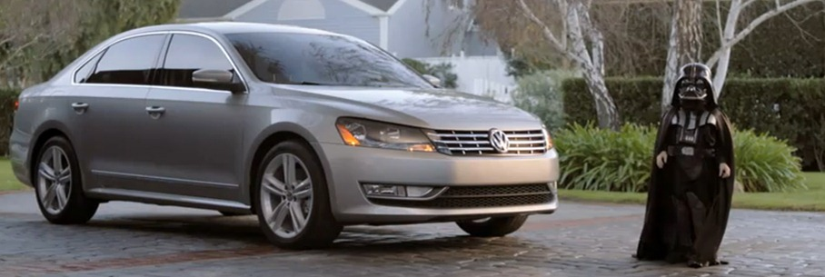 passat star wars dark vador