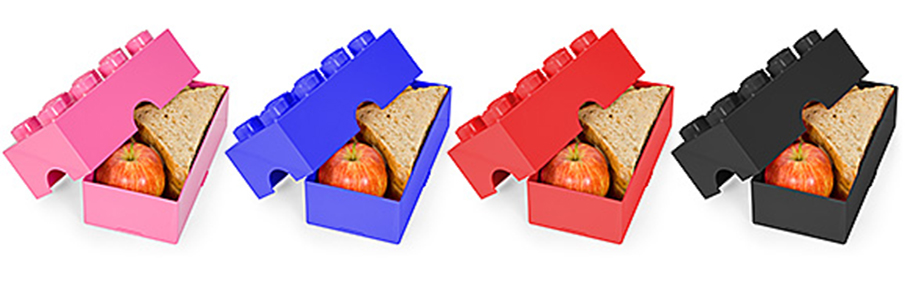 boites de rangement en brique de lego. Black Bedroom Furniture Sets. Home Design Ideas