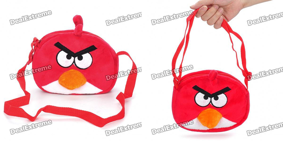 Sac a main angry birds - Angry birds rouge ...