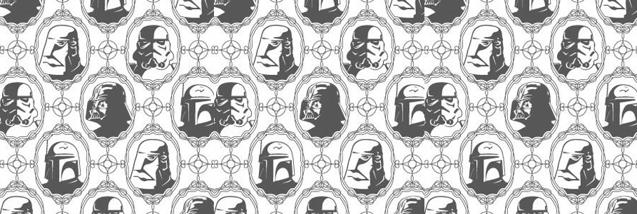 papier peint star wars tapisserie star wars. Black Bedroom Furniture Sets. Home Design Ideas