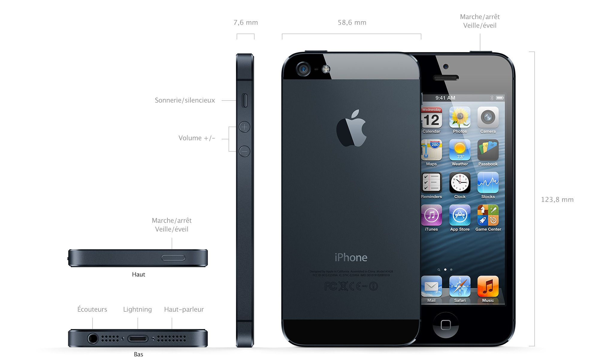 iphone 5 prix date de sortie vid o et photos officiels. Black Bedroom Furniture Sets. Home Design Ideas
