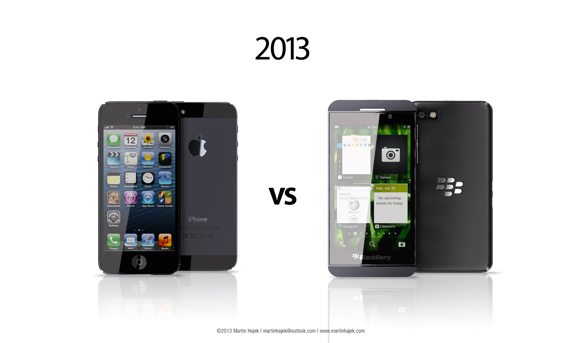iphone 5 vs z10