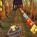 Temple Run 2 : wagon