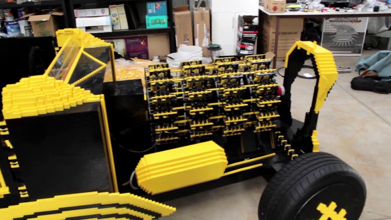 lego hot rod une incroyable voiture con ue en lego. Black Bedroom Furniture Sets. Home Design Ideas