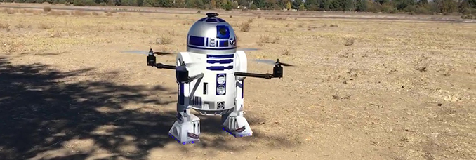 video-drone-robot-r2d2-star-wars