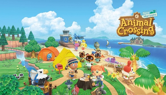 sortie jeux switch animal crossing