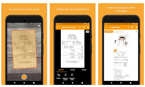 Genius Scan l'application Android utile pour tout scanner