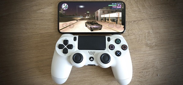 connecter manette PS4 ihpone
