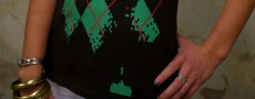 Un T-Shirt aux couleurs du jeu Space Invaders