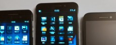 Blackberry Z30 : Une série de photos comparatives pour le BB A10