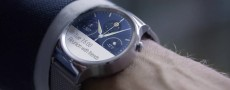 Huawei Watch : Huawei dévoile sa séduisante montre connectée