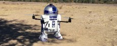 Star Wars: Un robot R2-D2 transformé en drone
